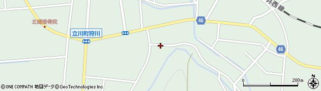 山形県東田川郡庄内町狩川楯下116周辺の地図