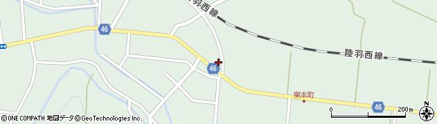 山形県東田川郡庄内町狩川今岡19周辺の地図