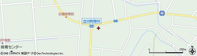 山形県東田川郡庄内町狩川楯下50周辺の地図