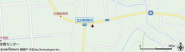 山形県東田川郡庄内町狩川楯下49周辺の地図