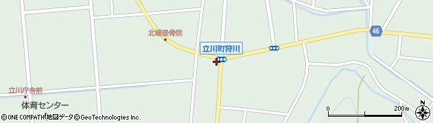 山形県東田川郡庄内町狩川楯下52周辺の地図