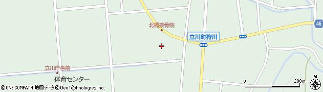 山形県東田川郡庄内町狩川西裏13周辺の地図