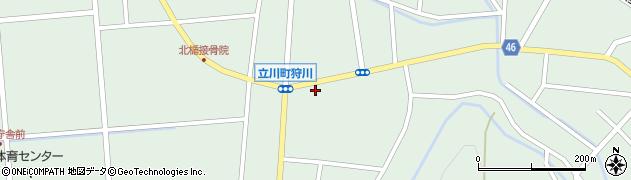山形県東田川郡庄内町狩川楯下48周辺の地図