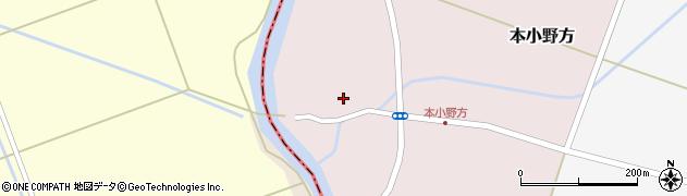 山形県東田川郡庄内町本小野方内割12周辺の地図