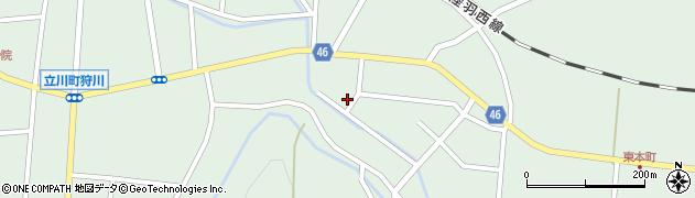 山形県東田川郡庄内町狩川山居60周辺の地図