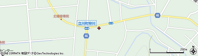 山形県東田川郡庄内町狩川楯下47周辺の地図