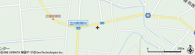山形県東田川郡庄内町狩川楯下45周辺の地図