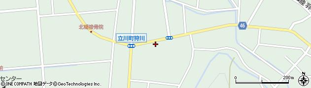 山形県東田川郡庄内町狩川楯下46周辺の地図