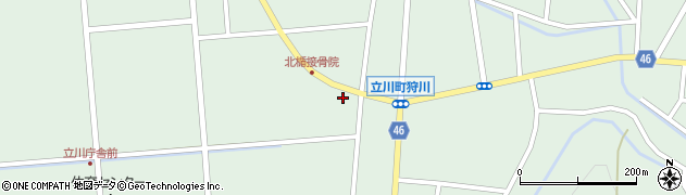 山形県東田川郡庄内町狩川西裏15周辺の地図