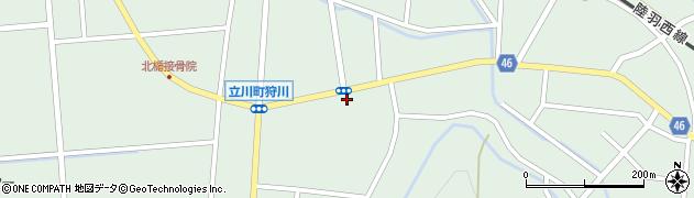 山形県東田川郡庄内町狩川楯下42周辺の地図