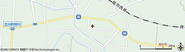 山形県東田川郡庄内町狩川今岡47周辺の地図