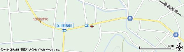 山形県東田川郡庄内町狩川楯下40周辺の地図