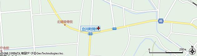 山形県東田川郡庄内町狩川小野里周辺の地図