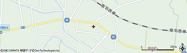 山形県東田川郡庄内町狩川今岡32周辺の地図