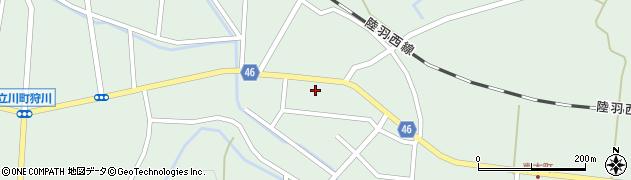 山形県東田川郡庄内町狩川今岡39周辺の地図