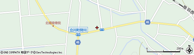 山形県東田川郡庄内町狩川小野里52周辺の地図