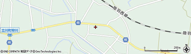 山形県東田川郡庄内町狩川今岡42周辺の地図