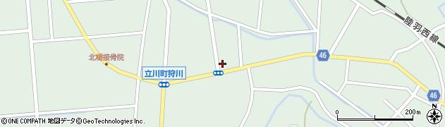 山形県東田川郡庄内町狩川小野里54周辺の地図