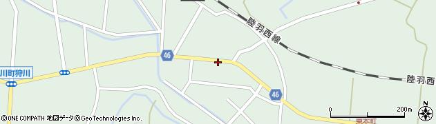 山形県東田川郡庄内町狩川今岡38周辺の地図