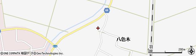 山形県鶴岡市八色木(殿田)周辺の地図