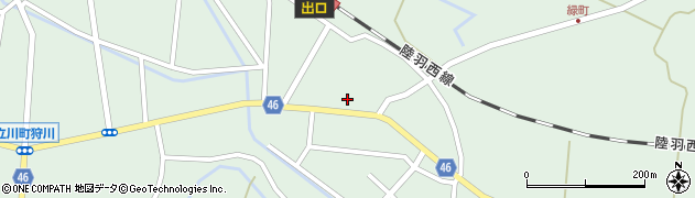 山形県東田川郡庄内町狩川今岡37周辺の地図