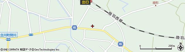 山形県東田川郡庄内町狩川今岡41周辺の地図