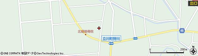 山形県東田川郡庄内町狩川西裏3周辺の地図