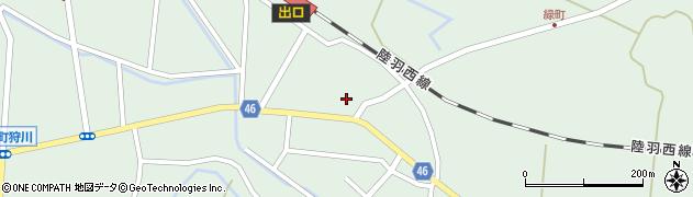 山形県東田川郡庄内町狩川今岡33周辺の地図