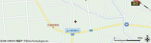 山形県東田川郡庄内町狩川小野里38周辺の地図