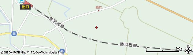 山形県東田川郡庄内町狩川堂ノ下周辺の地図