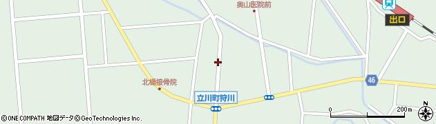 山形県東田川郡庄内町狩川小野里14周辺の地図