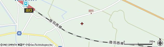 山形県東田川郡庄内町狩川堂ノ下26周辺の地図