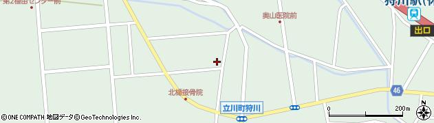 山形県東田川郡庄内町狩川西田110周辺の地図