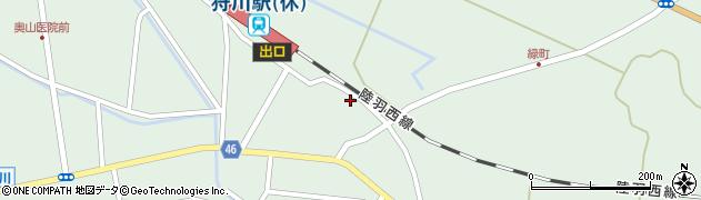 山形県東田川郡庄内町狩川今岡78周辺の地図
