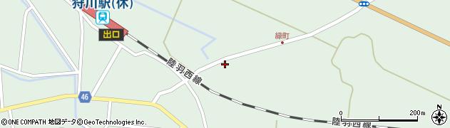 山形県東田川郡庄内町狩川堂ノ下25周辺の地図