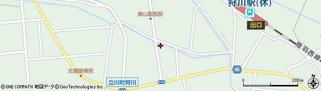 山形県東田川郡庄内町狩川小野里110周辺の地図