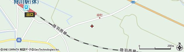 山形県東田川郡庄内町狩川堂ノ下27周辺の地図