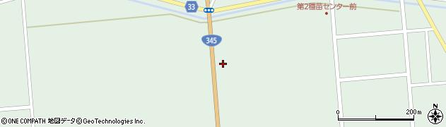 山形県東田川郡庄内町狩川西田153周辺の地図