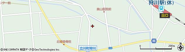山形県東田川郡庄内町狩川小野里32周辺の地図