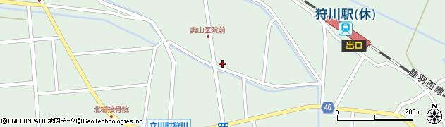 山形県東田川郡庄内町狩川小野里111周辺の地図