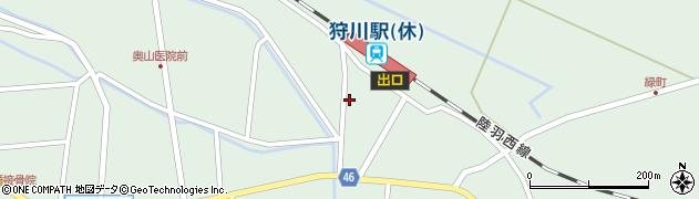 山形県東田川郡庄内町狩川今岡134周辺の地図