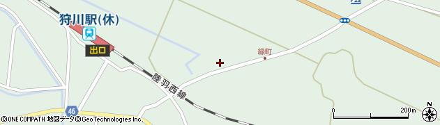 山形県東田川郡庄内町狩川大坪4周辺の地図