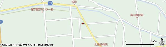 山形県東田川郡庄内町狩川西田周辺の地図