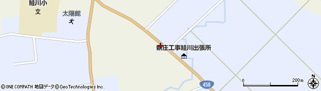 山形県最上郡鮭川村佐渡853周辺の地図