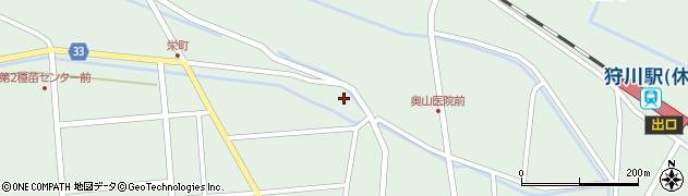山形県東田川郡庄内町狩川西田3周辺の地図