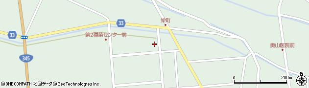 山形県東田川郡庄内町狩川西田123周辺の地図
