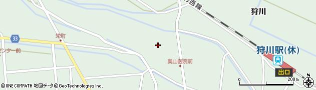 山形県東田川郡庄内町狩川薬師堂西46周辺の地図