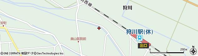 山形県東田川郡庄内町狩川小野里100周辺の地図