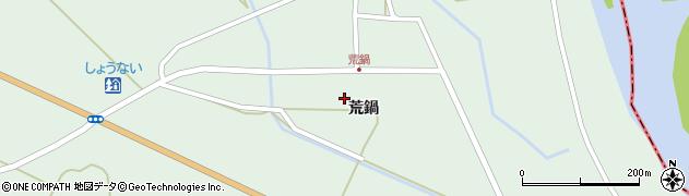 山形県東田川郡庄内町狩川荒鍋22周辺の地図