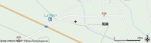 山形県東田川郡庄内町狩川荒鍋35周辺の地図